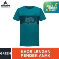 Eiger Kids Mud Crusher T-shirt - Green