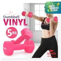 Dumbell barbel Speeds 5KG VINYL NEOPRENE LX012-13