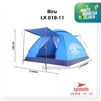 Tenda Family Otomatis Tenda camping hiking piknik(3 orang) LX018-11
