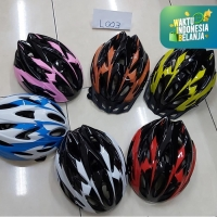 Helm helmet sepeda unisex Bisa atur besar kecil Terbaru L003