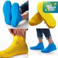 Cover Shoes Jas Pelapis Sepatu Karet Anti Air Hujan Waterproof Tinggi