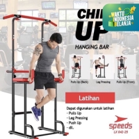 Khusus gosend Alat fitness chin up pull up bar GYM SPEEDS LX 042-25