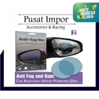 Anti Fog Film for Side - Spion Mobil Anti Embun 10 x 10 cm Bulat