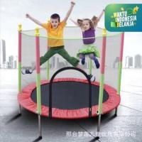 Trampoline trampolin Lompat mainan Anak SPEEDS LX 067-4 (KHUSUS GOSEND