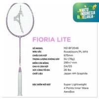 free pasang senar Raket badminton MIZUNO FLORIA LITE+SENAR BG66 ORI