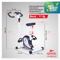khusus gosend sepeda Statis Exericse Belt Bike Spinning bike 042-23