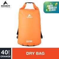 Eiger Dry Bag Strap 40L - Orange