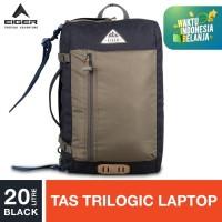 Eiger 1989 Borderpass 2.0 Lite Trilogic Bag 20L - Black