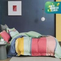 Sleep Buddy Set Sprei Candy Line Cotton Sateen Single Size