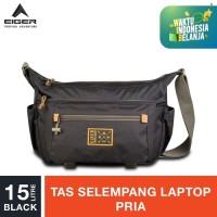 Eiger 1989 Traverse 2.0 15L Laptop Shoulder Bag 15L - Black