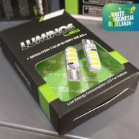 LUMINOS Led T10 Strobo Kuning Super Terang Universal Lampu Sein Sen