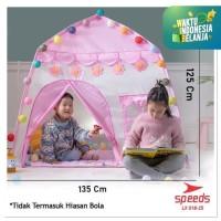 Tenda Bermain Anak model rumah Tenda Kids Anak Speeds LX 018-25