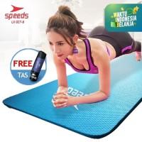 Matras Yoga 10MM NBR SPEEDS IMPORT BARU kualitas bagus+Tas LX 027-8