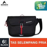 Eiger Kanawa 6 1F Shoulder Bag - Black 6L