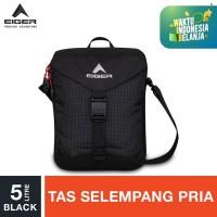 Eiger Gradient Y 1F Shoulder Bag - Black 5L