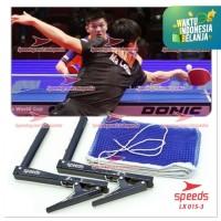 Tiang jaring net ping pong tenis meja jepit SPEEDS LX 051-3+ tas ORI