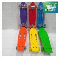 Pennyboard/banana board skateboard Pu wheell 22inch MODEL TERBARU!!!