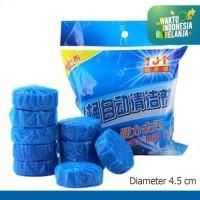 Tablet Biru Pembersih Penyegar Kloset Toilet 50g bukan Bagus SiBiru