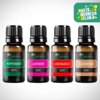 Paket Hemat Basic Essential Oil 4 x 15 ml Our Garden Aroma Terapi
