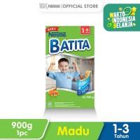 DANCOW BATITA Nutri TAT Madu Susu Pertumbuhan 1-3 Tahun Box 1000g