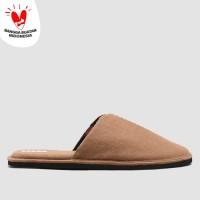 BRODO - WFH Sandal Tan Wool