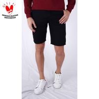 Houseofcuff Celana Pendek Pria Chino Polos Short Pants Slim Fit Hitam