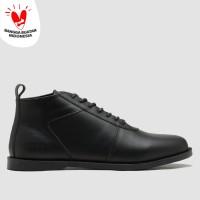 BRODO - Sepatu Pria Ventura E+ Full Black