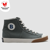 BRODO - Sepatu Pria Vantage Hi Steel Grey WS