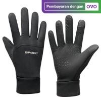 Sarung Tangan Outdoor / Sepeda Motor Waterproof Anti Slip Touchscreen - XL