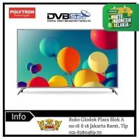 Polytron 50S883 LED TV [50 inch] DVB-T2 Garansi 5 tahun