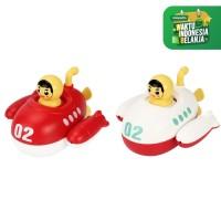MB142 Mainan Mandi Bayi Anak Kapal Selam Berputar Di Kolam Renang