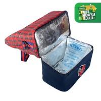 BABY SCOTS Tas Penyimpanan Asi Scots - Cooler&Thermal Bag FREE ICE GEL - Cokelat