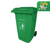 TEMPAT SAMPAH BESAR /Dust Bin PROVEN 240L PLASTIK SAMPAH