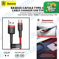 Kabel Data Usb Type C 2A BASEUS CAFULE Cable Charger Type-C 2Meter