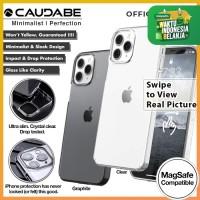Original Caudabe Lucid Clear Case iPhone 12 Pro Max 12 Pro 12 12 Mini - 12 Pro Max, Clear