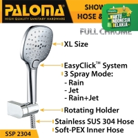 PALOMA SSP 2304 Shower Set Handshower Mandi Hand Head Kepala Air Paket