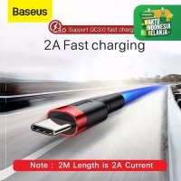 KABEL DATA TYPE-C BASEUS CAFULE CABLE FOR TYPE-C 2A 2M