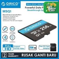 ORICO MicroSD High Speed TF Memory Card - MSQ1-256GB