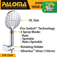 PALOMA SSP 2308 Shower Set Handshower Mandi Hand Head Kepala Air Paket