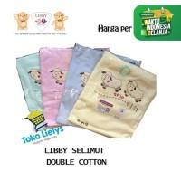 1 PCS LIBBY Selimut Bayi Double Cotton Blanket Baby Double Katun