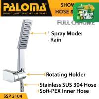 PALOMA SSP 2104 Shower Set Handshower Mandi Hand Head Kepala Air Paket