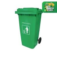 TEMPAT SAMPAH BESAR /Dust Bin PROVEN 120L PLASTIK SAMPAH