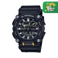 Jam Tangan Pria Casio G-Shock Digital Analog Black Resin GA-900-1ADR
