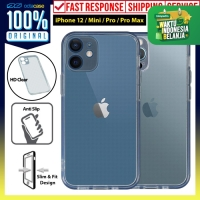 Case iPhone 12 Pro Max 12 Pro Mini OCTACASE Silicone Clear Soft Casing