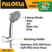 PALOMA SSP 2401 Shower Set Handshower Mandi Hand Head Kepala Air Paket