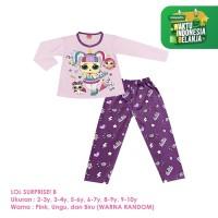 Baju Setelan Anak Perempuan Panjang 2-10 Tahun LOL B Shirton
