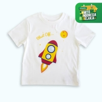 Moosca Kidswear Rocket Blast Off Tee