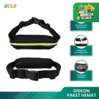 ECLE Sport Waist Bag Waterproof Tas Pinggang Olahraga Fitness Running