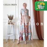 DRESS MUSLIM WANITA CELIA