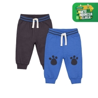 paw-print joggers - 2 pack